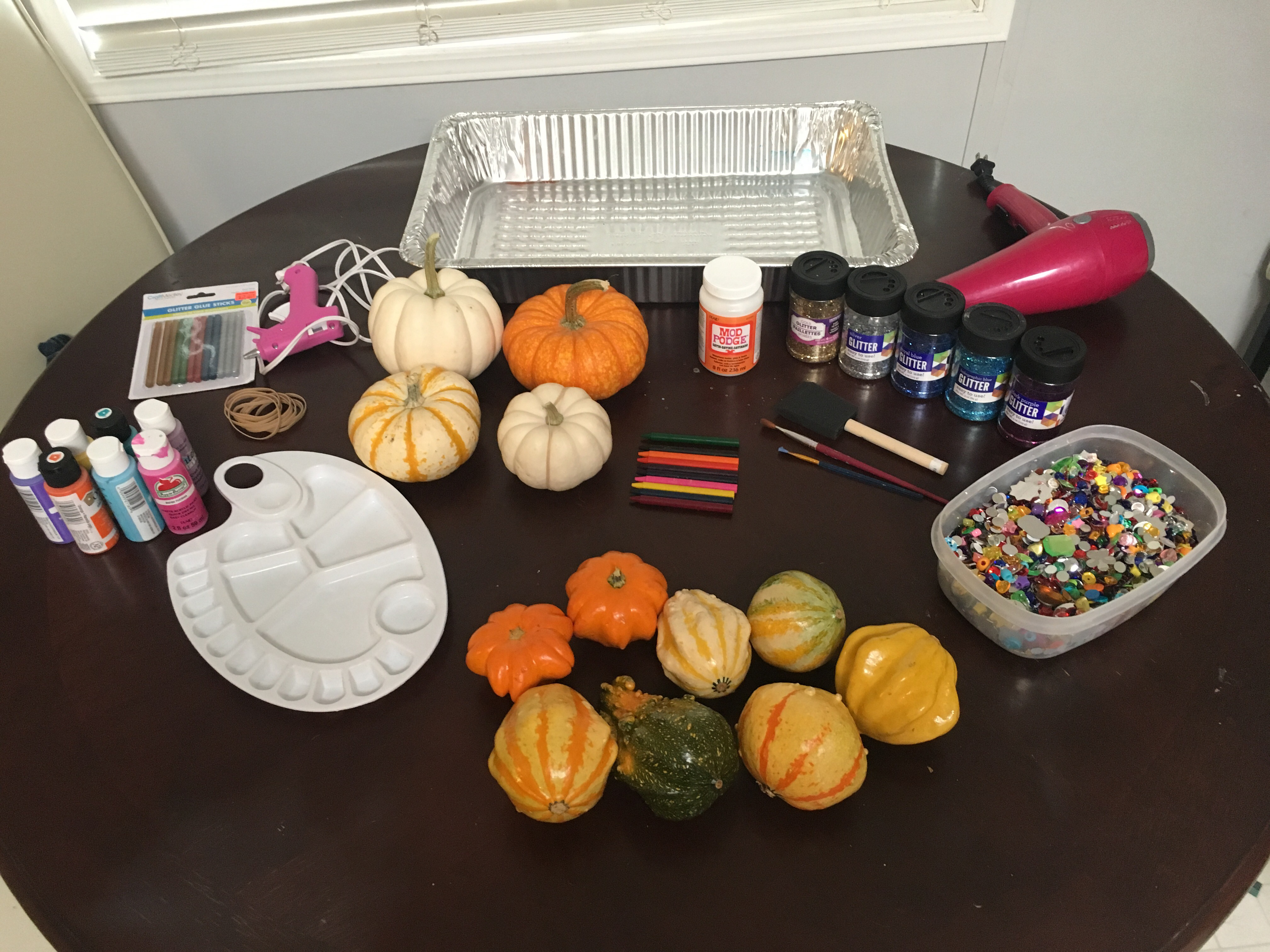 Decorative Pumpkins Adventures Of A Stepmom